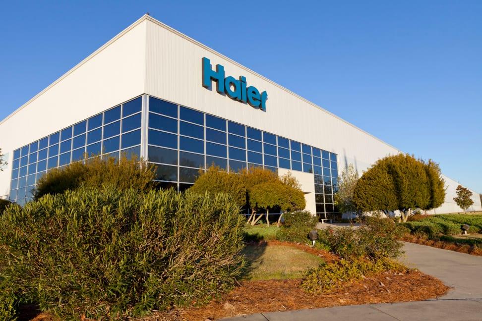 Haier factory in South Carolina