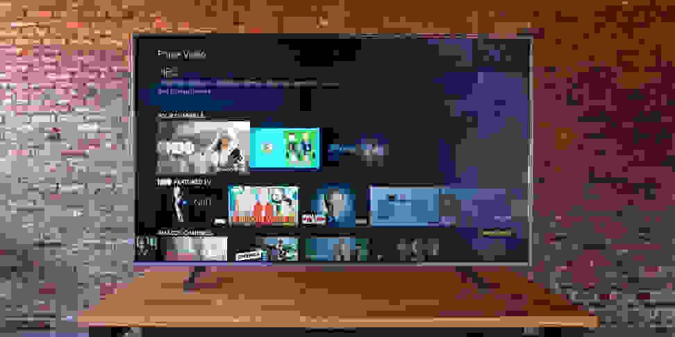 Westinghouse Amazon Fire TV Main Menu
