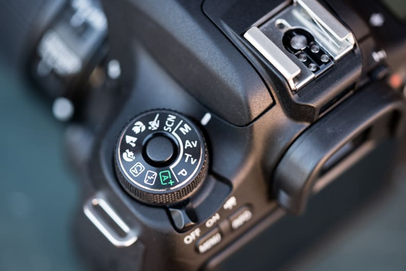 The mode dial now comes equipped with a lock, so users won't accidentally switch modes and miss a shot.