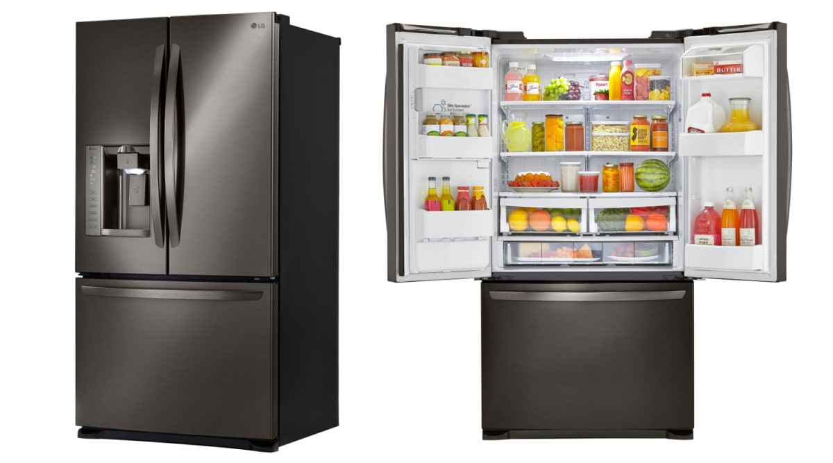 lg lfx25973d french door refrigerator review refrigerators. Black Bedroom Furniture Sets. Home Design Ideas