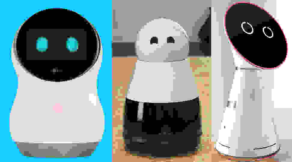 Robots with faces, a trend at CES 2017