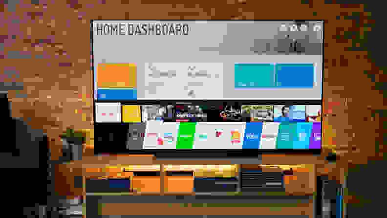 LG E9 WebOS Smart Platform Home Screen