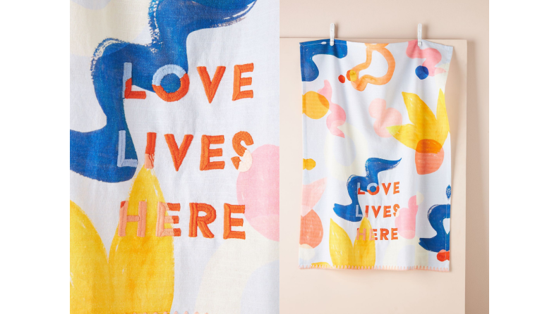 Best engagement gifts: Dish towels