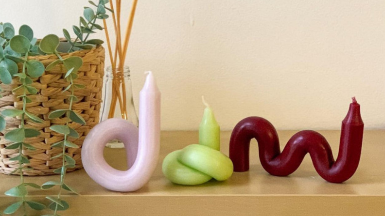 bendy candles