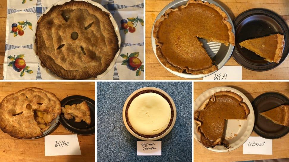 Testing Pie Pans