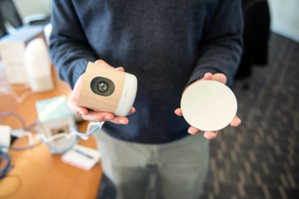 The Withings Home and its dish