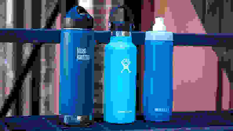 A reusable water bottle is a back-to-school necessity.