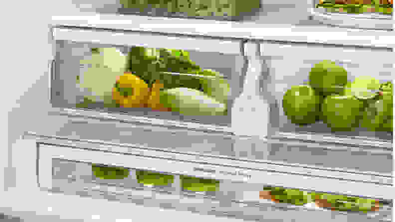 this crisper is not organized correctly