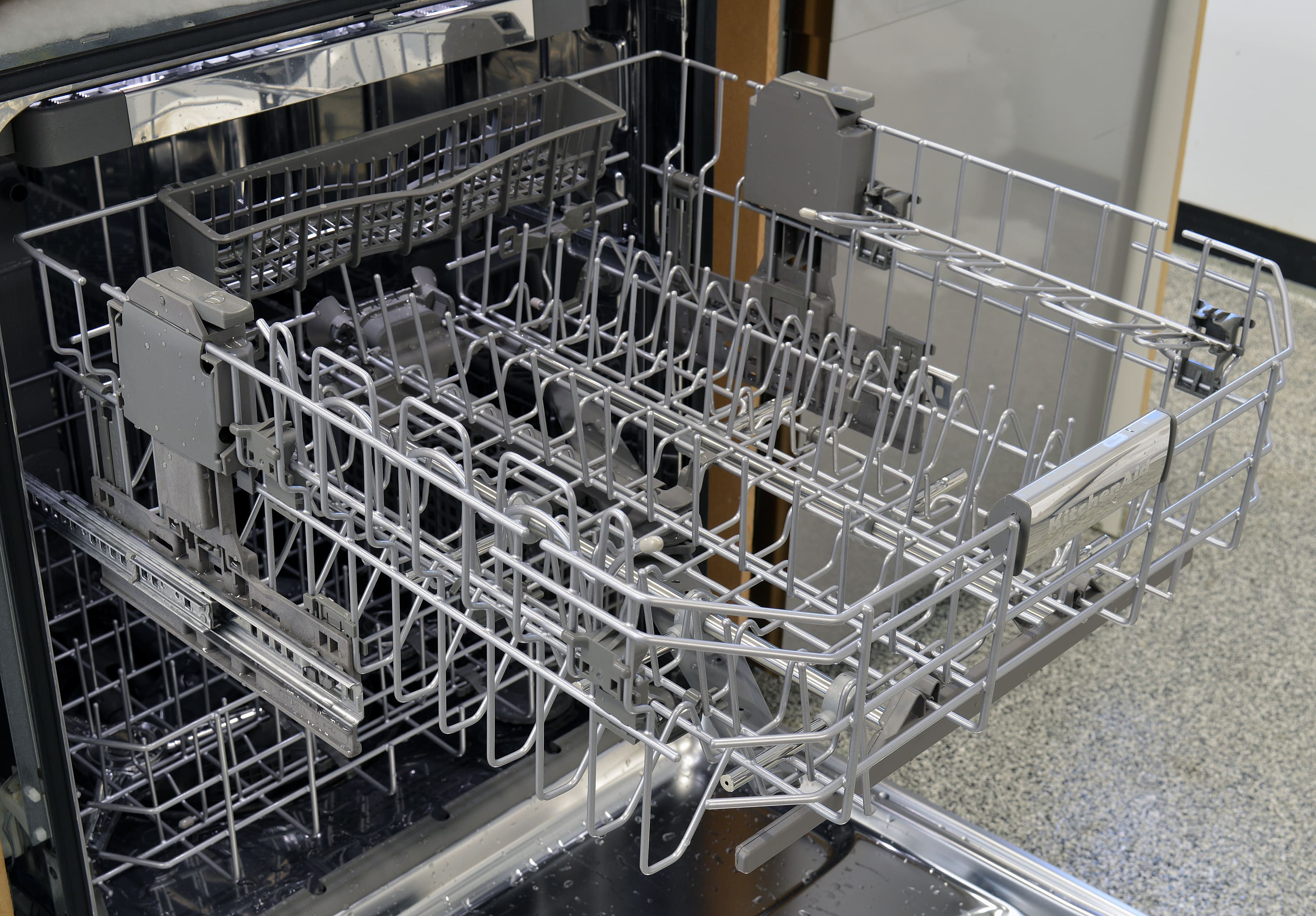 Kitchenaid Kdtm704ess Dishwasher Review Reviewed Dishwashers