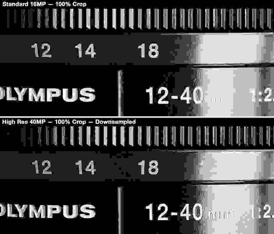 Olympus OM-D E-M5 Mark II – High-Res Comparison