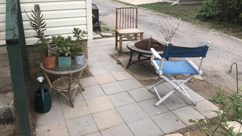 Final patio