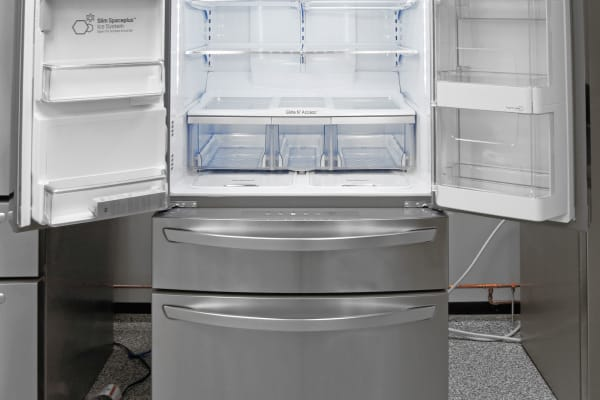 The cavernous LG LMXS30776S should hold enough food for even larger families.