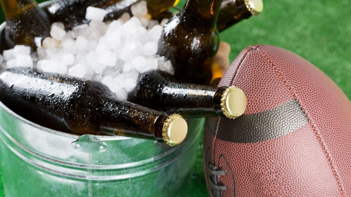 """Everything you need to host a driveway super bowl """"party"""""""