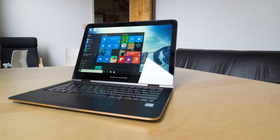HP Spectre X360 13-inch On Desk