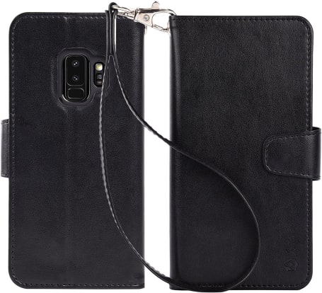 Product Image - Arae Leather Wallet Case (Samsung Galaxy S9)