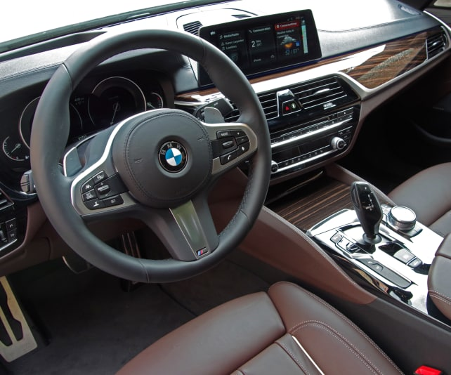 BMW 530i Nappa leather interior