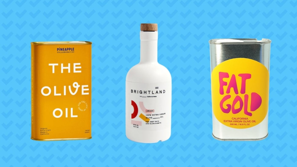 We tried olive oil from Pineapple Collaborative, Brightland, and Fat Gold.