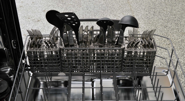 Kenmore Elite 14753 cutlery basket capacity test