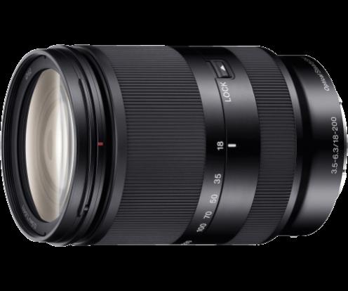Product Image - Sony E 18-200mm f/3.5-6.3 OSS E-mount Zoom Lens