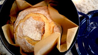 This is the best way to make bread at home, using Staub Dutch oven.