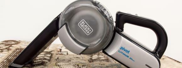 Handheld vacuum pivot