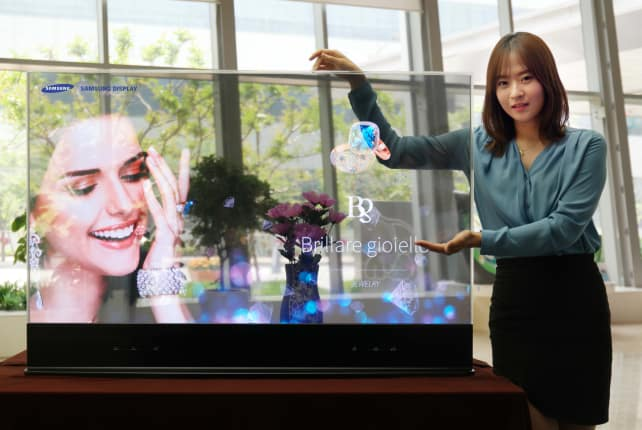 Samsung Transparent OLED