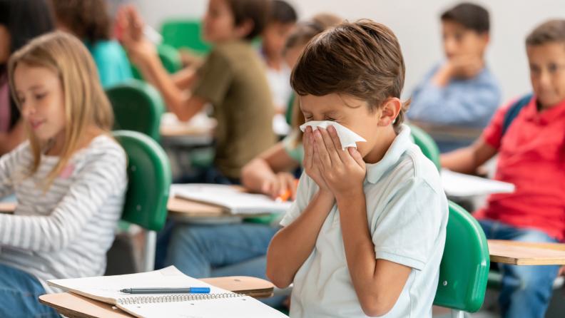 Keep germs at bay with antibacterial Kleenex