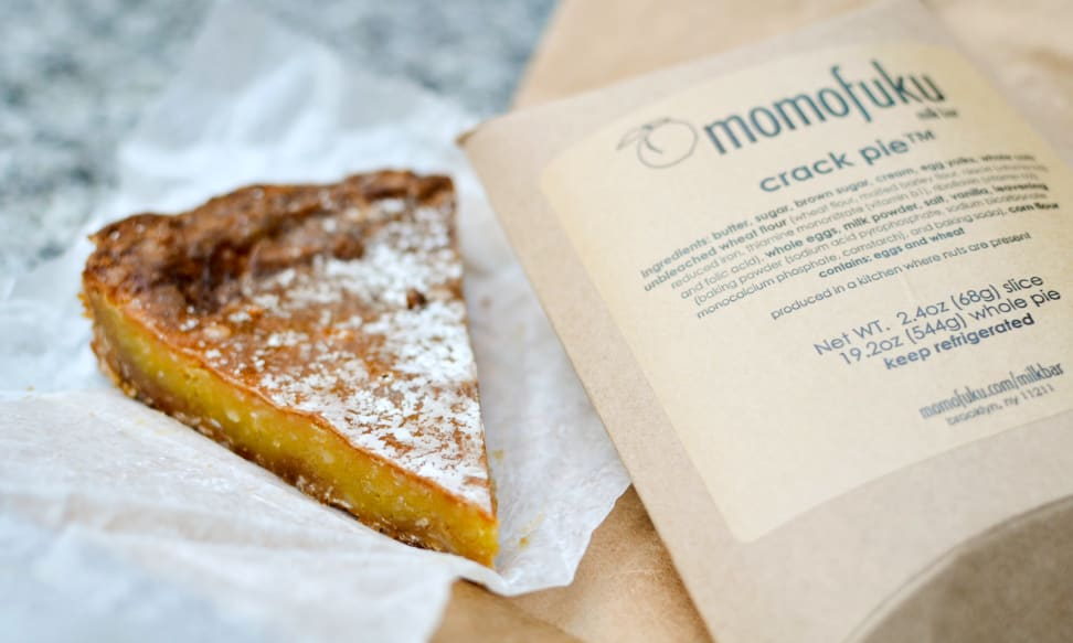 Momofuku Milk Bar's infamous Crack Pie