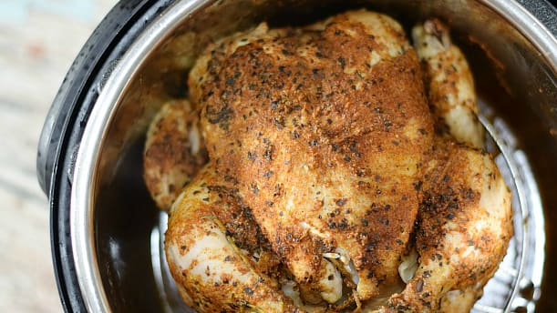 Frozen Chicken in the Instant Pot