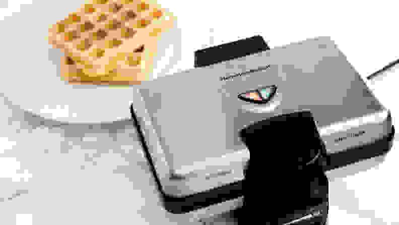 The Hamilton Beach 26009 Belgian Style Waffle Maker