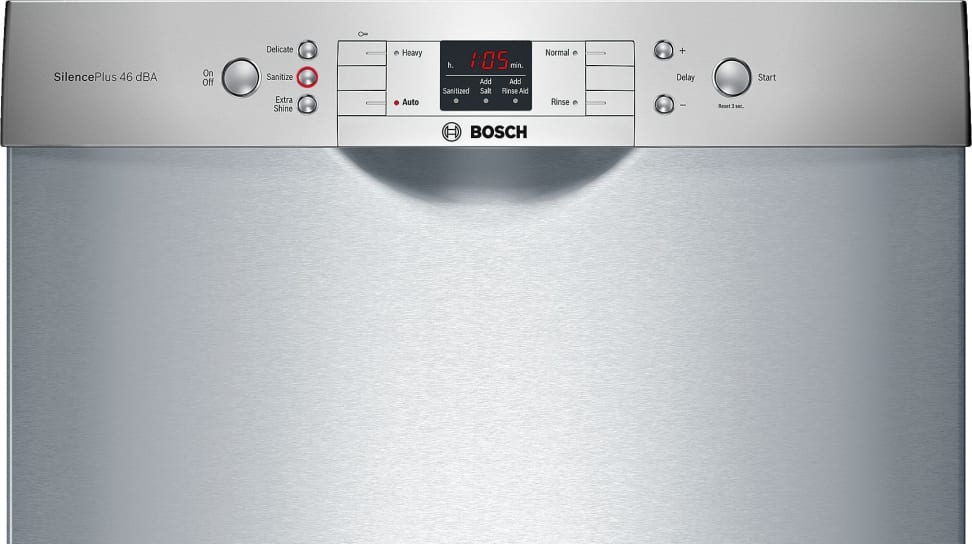 Bosch 300 Series traditional front controls