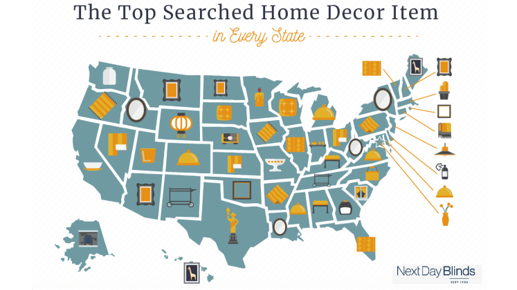 The Most Popular Home Decor Item In Every State Reviewed Com Laundry