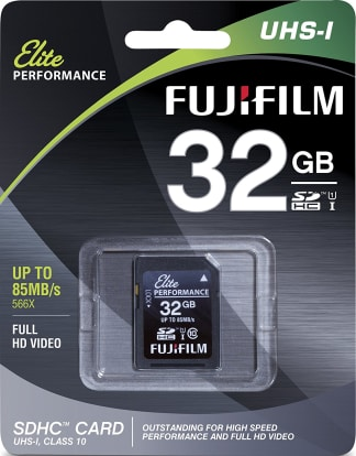 Product Image - Fujifilm Elite Performance 32GB (85 MB/s)