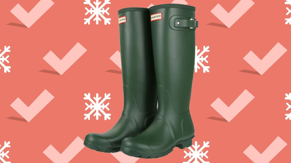 These wellies are down to an incredibly low price.