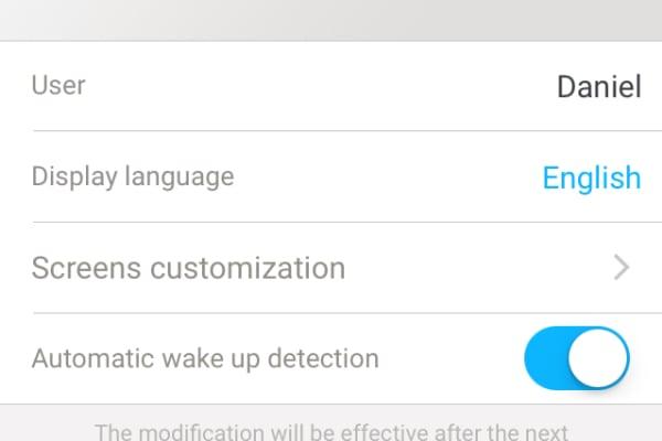 The Pulse O2 settings page