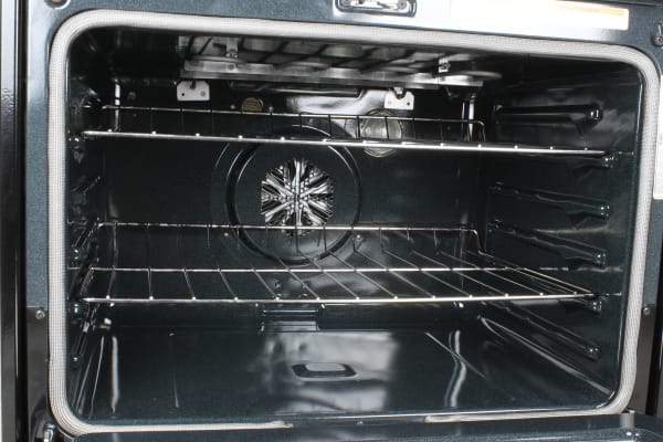 The larger lower oven cavity