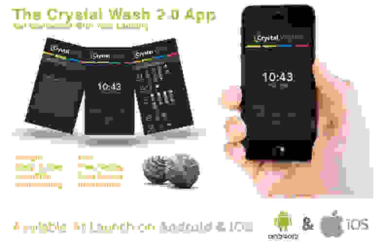 Crystal Wash 2.0 App