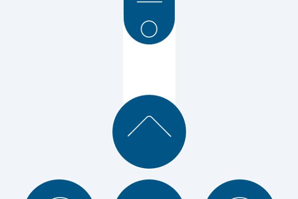 The Neato App Remote Control Screen