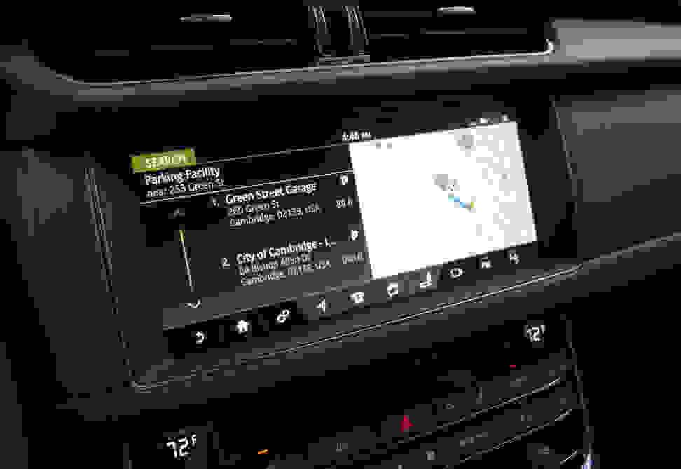 2017 Jaguar XF Diesel Navigation—Parking