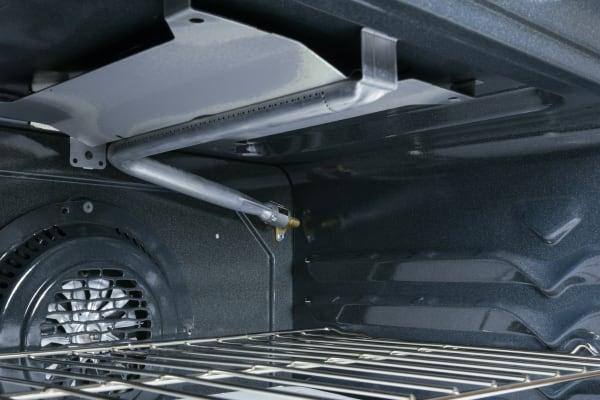 Interior shot of the broiler.
