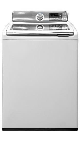 A Samsung top-load washing machine