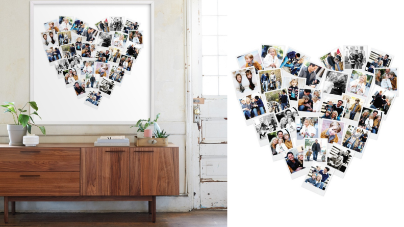 Minted photo board