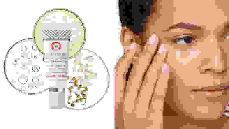 First Aid Beauty FAB Skin Lab Retinol Eye Cream with Triple Hyaluronic Acid