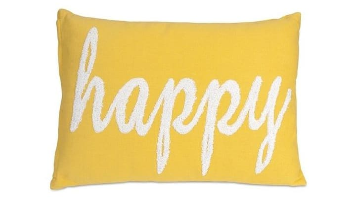 Houzz Happy Pillow