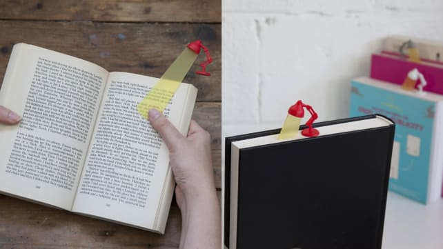 Peleg Design Lightmark Desk Lamp Bookmark