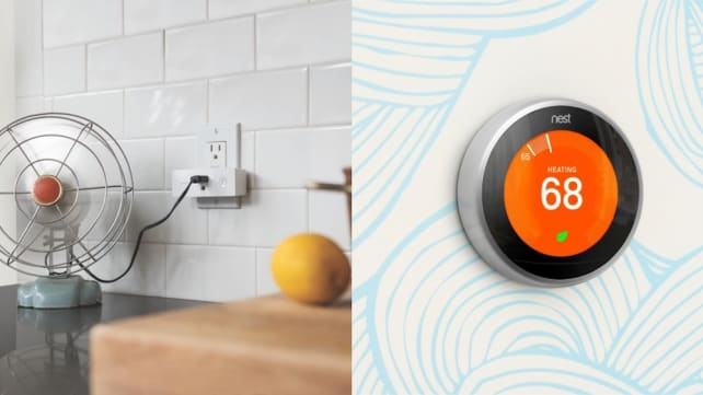 Nest Thermostat and Wemo Plug