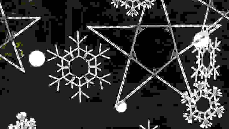 Kringle Traditions Folding Snowflake