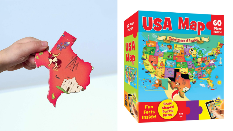 MasterPieces USA Map puzzle