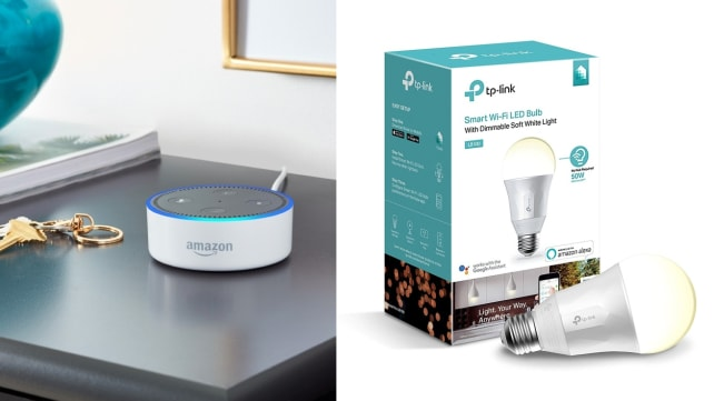 Echo Dot and TP-Link Bulbs