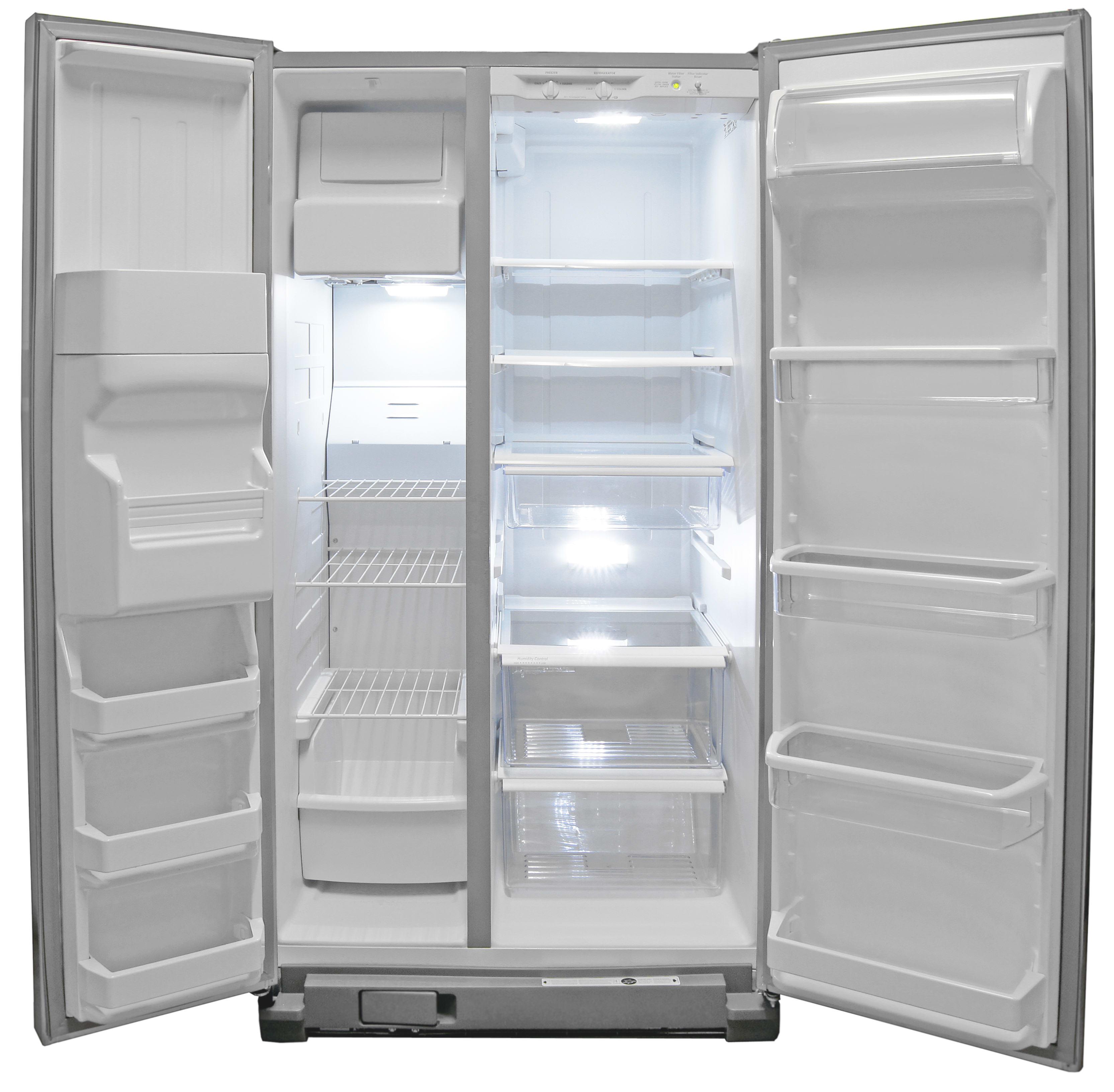 refrigerator refrigerators silver drawer single front door samsung french